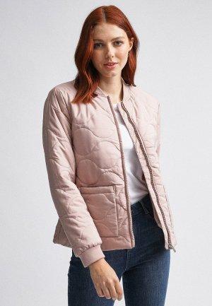 Куртка утепленная Dorothy Perkins. Цвет: розовый