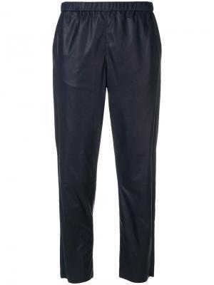 Укороченные брюки Drome. Цвет: синий