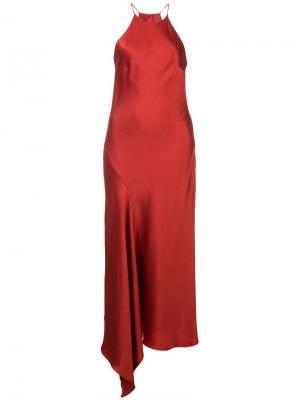 Платье Lucy Alexis. Цвет: красный