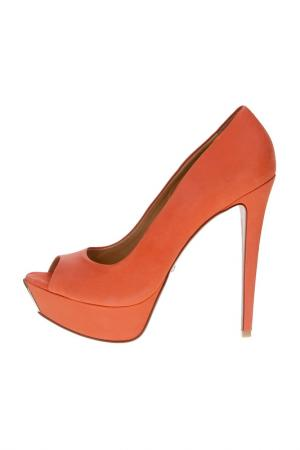 Туфли SCHUTZ. Цвет: оранжевый