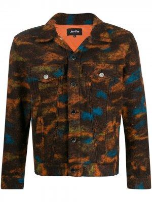 Фетровая куртка Just Don. Цвет: оранжевый