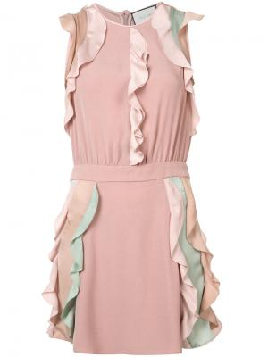 Платье Kelly Alexis. Цвет: розовый и фиолетовый