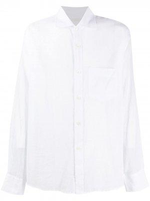 Рубашка со срезанным воротником Our Legacy. Цвет: белый