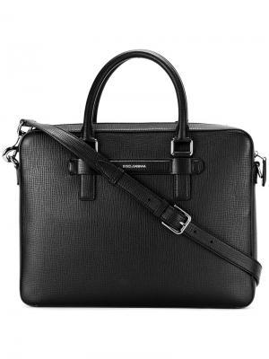 Сумка для ноутбука Mediterraneo Dolce & Gabbana. Цвет: черный