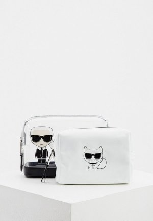 Комплект Karl Lagerfeld. Цвет: белый