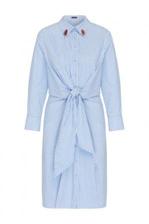 Платье Apart. Цвет: светло-голубой