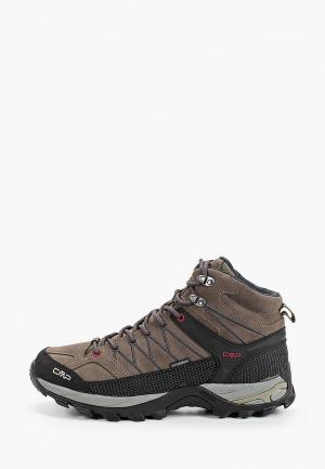 Ботинки трекинговые CMP. Цвет: коричневый