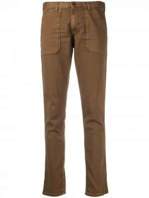 Укороченные брюки чинос Ba&Sh. Цвет: коричневый