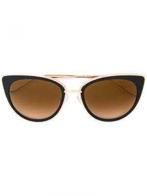Солнцезащитные очки Vagenius II Chrome Hearts. Цвет: чёрный
