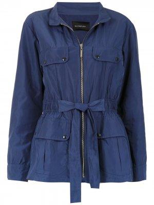Куртка Alania на молнии Olympiah. Цвет: синий