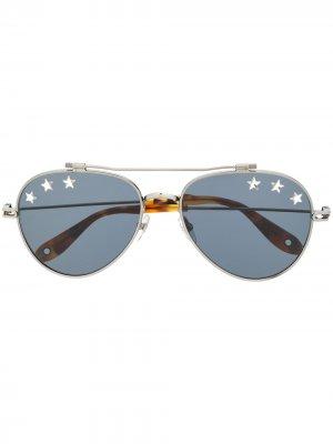 Солнцезащитные очки GV7057/N Givenchy Eyewear. Цвет: черный