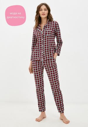 Пижама Dansanti. Цвет: красный