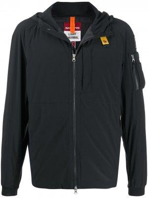Куртка Mizuki с капюшоном Parajumpers. Цвет: черный