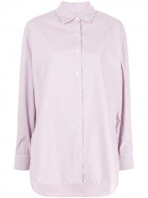 Длинная рубашка Yorke Nili Lotan. Цвет: фиолетовый