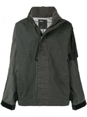 Куртка на молнии с длинными рукавами Guard Nemen. Цвет: серый