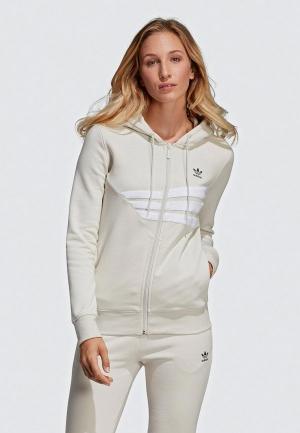 Толстовка adidas Originals. Цвет: белый
