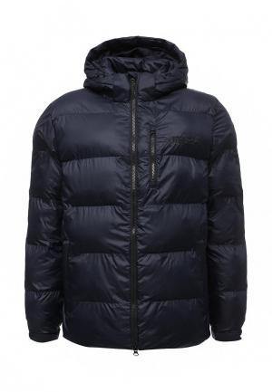 Куртка утепленная adidas Originals. Цвет: синий