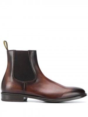 Doucals ботинки челси с выцветшим эффектом Doucal's. Цвет: коричневый