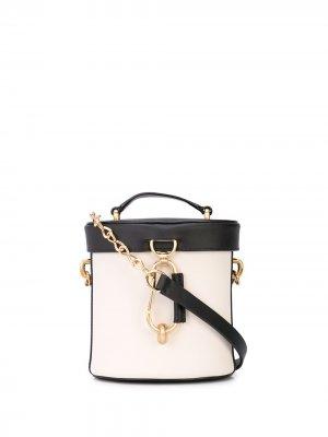 Маленькая сумка Belay Zac Posen. Цвет: серый