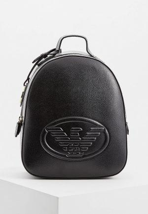Рюкзак Emporio Armani. Цвет: черный