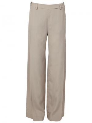 Широкие брюки Ilaria Nistri. Цвет: нейтральные цвета