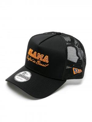 Кепка Slama tela + New Era Amir. Цвет: черный