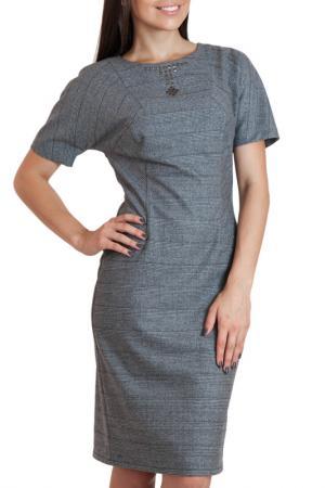 Платье Chateau Fleur. Цвет: серый