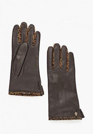 Перчатки Roeckl. Цвет: коричневый