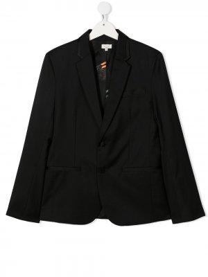 Пиджак на пуговицах Paul Smith Junior. Цвет: черный