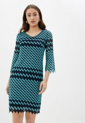 Платье Betty Barclay. Цвет: разноцветный