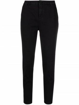 Укороченные брюки скинни Department 5. Цвет: черный