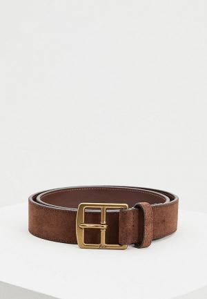 Ремень Polo Ralph Lauren. Цвет: коричневый