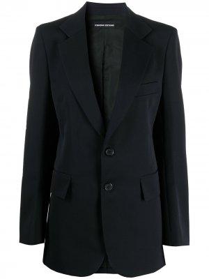 Пиджак на пуговицах Kwaidan Editions. Цвет: синий