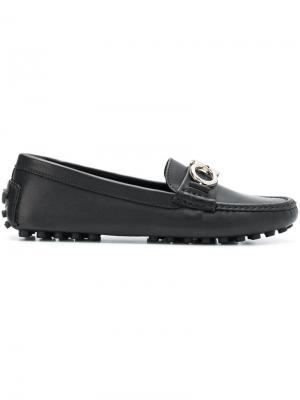 Classic loafers Salvatore Ferragamo. Цвет: черный