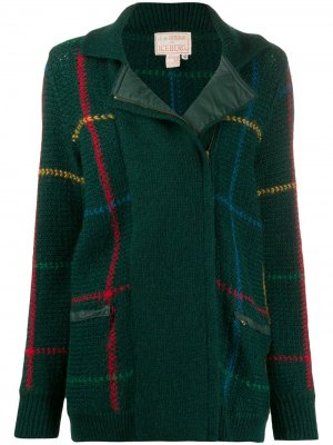 Трикотажная куртка 1970-х годов в клетку JC de Castelbajac Pre-Owned. Цвет: зеленый