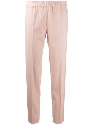 Декорированные брюки с эластичным поясом D.Exterior. Цвет: розовый