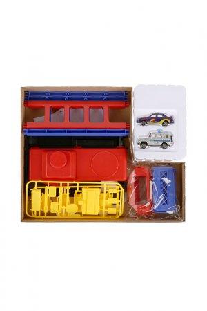 Игровой набор Парковка ТЕХНОПАРК. Цвет: красный