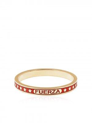 Кольцо Strength из желтого золота Foundrae. Цвет: золотистый