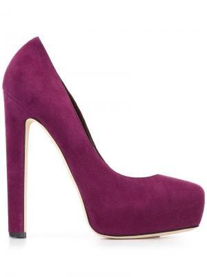 Туфли New Maniac Brian Atwood. Цвет: розовый и фиолетовый