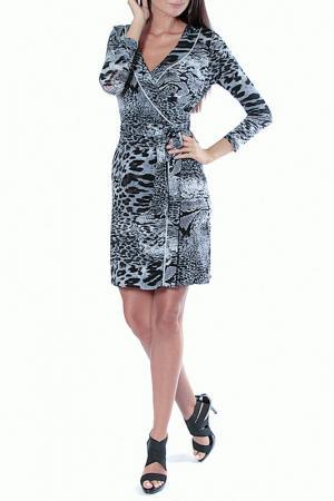 Платье Aftershock. Цвет: серый