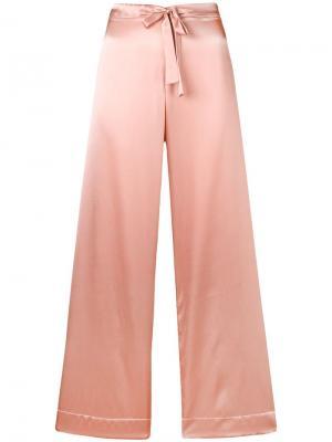 Пижамные брюки Sophia Gilda & Pearl. Цвет: розовый