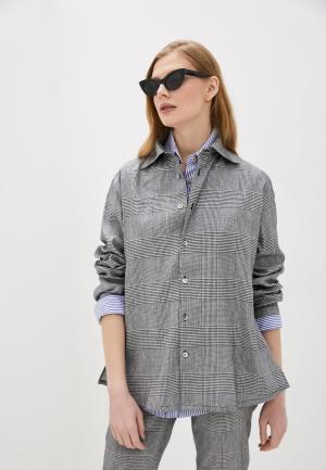 Рубашка Vivienne Westwood. Цвет: серый