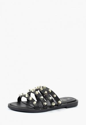 Сабо WS Shoes. Цвет: черный