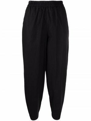 Зауженные брюки с завышенной талией Toogood. Цвет: черный