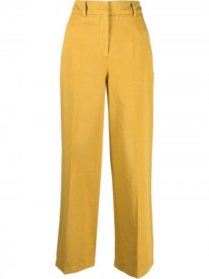 Прямые брюки slowear. Цвет: желтый
