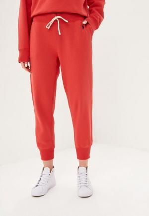 Брюки спортивные Polo Ralph Lauren. Цвет: красный