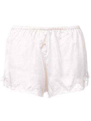 Пижамные шорты Josephine Morgan Lane. Цвет: нейтральные цвета
