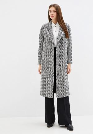 Пальто Grand Style. Цвет: серый