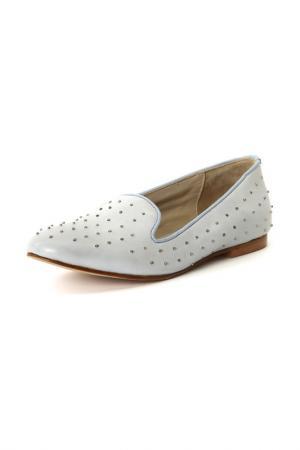 Туфли Velvet. Цвет: голубой