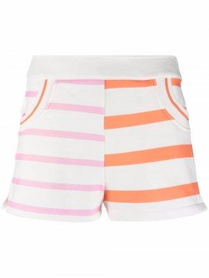 Шорты Sophie Solid & Striped. Цвет: белый